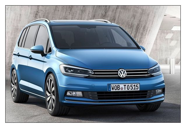 2016 vw touran interior exterior price for Interior touran