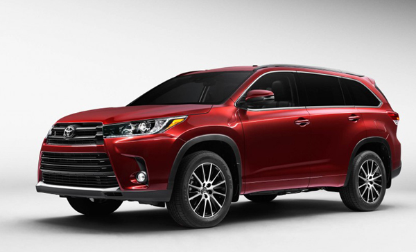 2017 toyota highlander design engine price release date. Black Bedroom Furniture Sets. Home Design Ideas