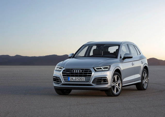 Also, like with all other Q cars, the SQ5 will come as standard with ...