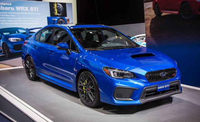 2018 Subaru Wrx Sti Design Engine Price Release Date