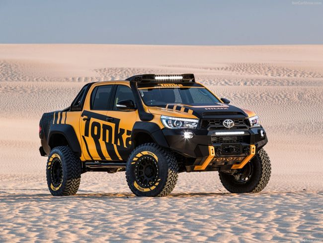 toyota hilux tonka concept price design specs. Black Bedroom Furniture Sets. Home Design Ideas