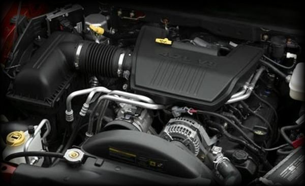 2016 Dodge Rampage Engine