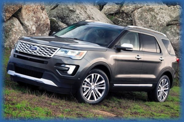 2016 Ford Explorer Design and Price12