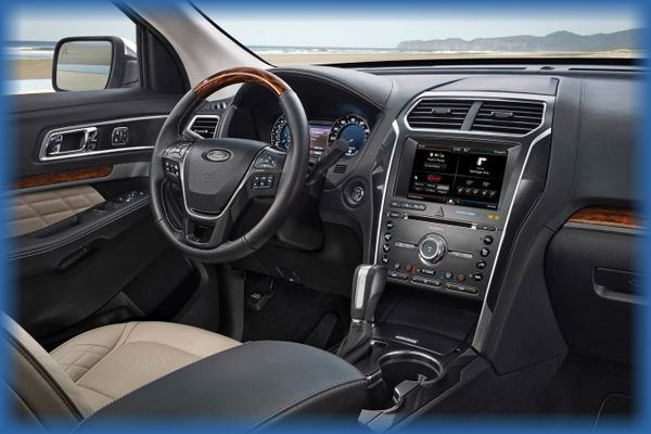 2016 Ford Explorer Design and Price6