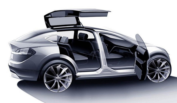 2016 Tesla Model X Release date and Price3 600x351