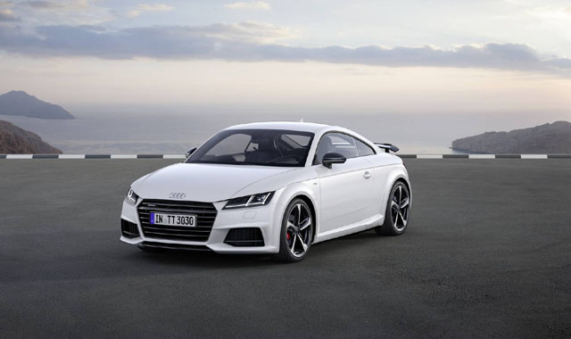 2017 Audi TT Coupe S Line Competition9