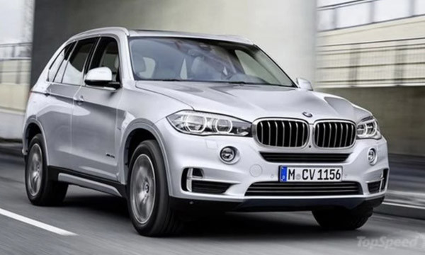 2017 BMW X5 xDrive40e Review1