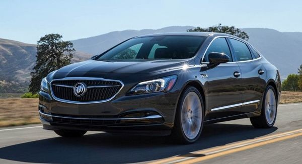 2017 Buick LaCrosse Interior and Exterior 600x327