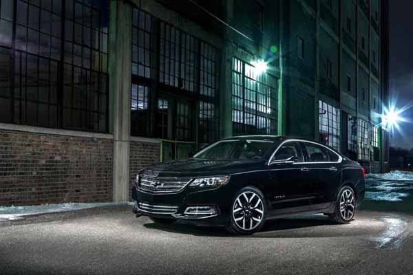 2017 Chevrolet Impala Release date and Price 600x400