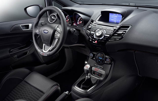 2017 Ford Fiesta ST200 Interior
