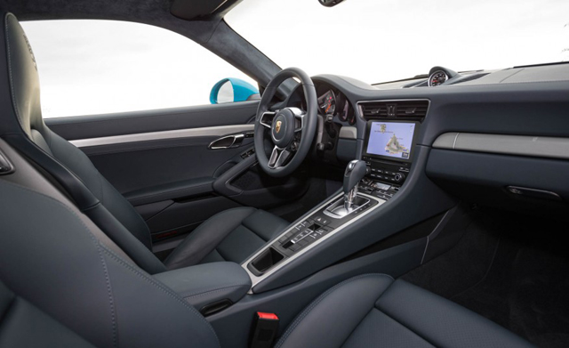 2017 Porsche 911 Carrera Interior