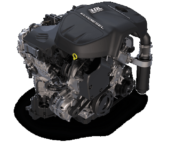 2017 Ram 1500 Big Horn Engine