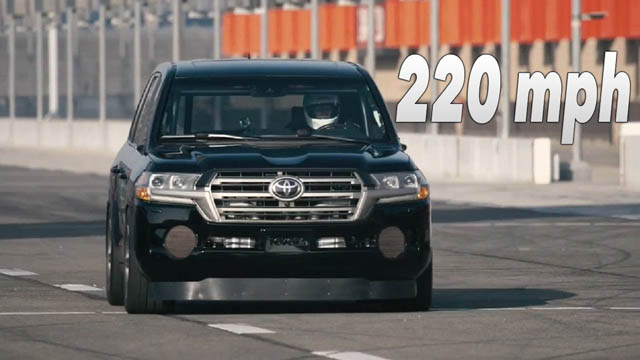 2017 Toyota Land Speed Cruiser 6