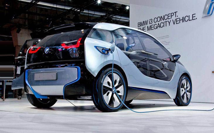 2018 BMW I3 Engine