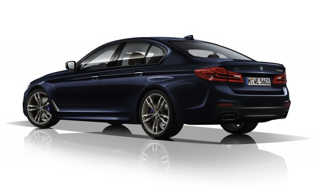 2018 BMW M550i xDrive Design