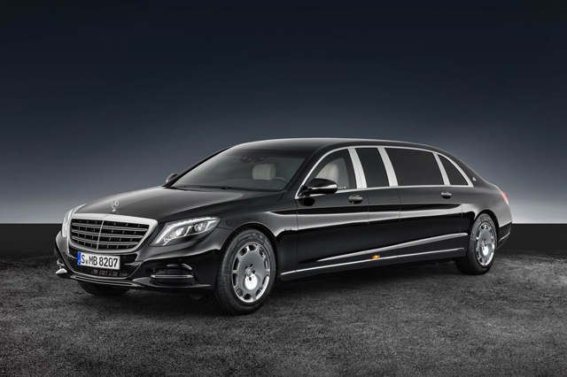 2018 Mercedes Benz S600 Pullman Maybach Guard