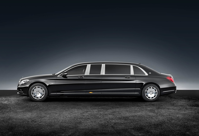 2018 Mercedes Benz S600 Pullman Maybach Guard1