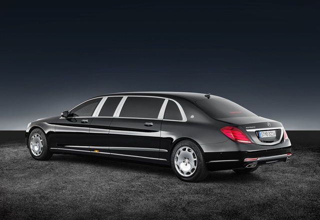 2018 Mercedes Benz S600 Pullman Maybach Guard2