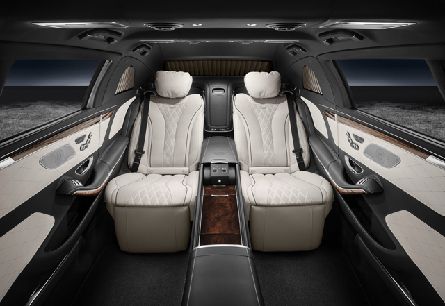 2018 Mercedes Benz S600 Pullman Maybach Guard3