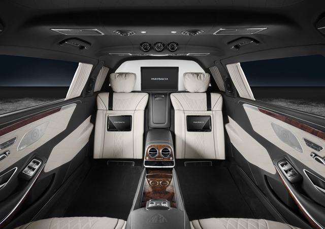 2018 Mercedes Benz S600 Pullman Maybach Guard7