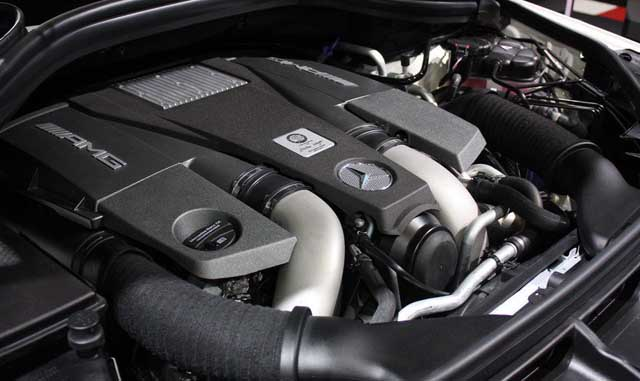 2018 Mercedes GLS Engine