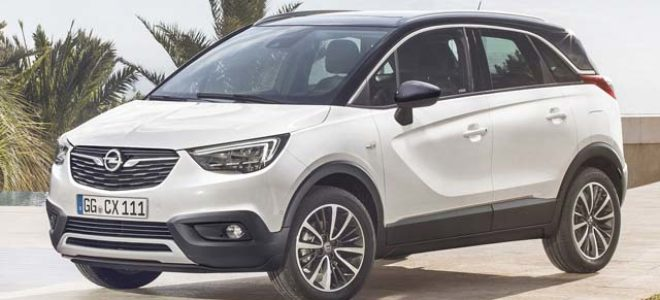 2018 opel crossland x price design interior exterior specs. Black Bedroom Furniture Sets. Home Design Ideas