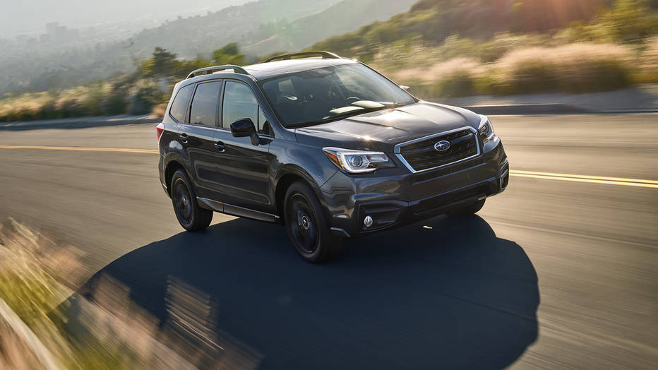 2018 Subaru Forester Black Edition 1