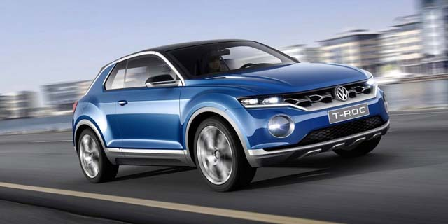 2018 volkswagen t roc release date price design specs. Black Bedroom Furniture Sets. Home Design Ideas