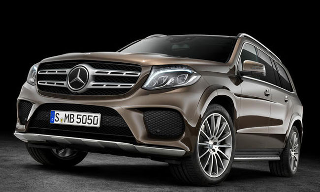 2019 Mercedes Benz GLS1