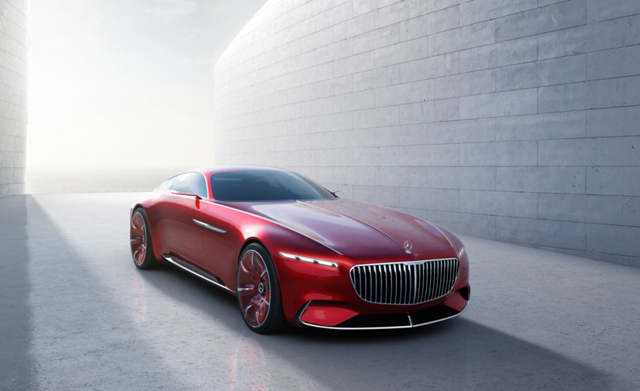 Mercedes Maybach 6 Concept1