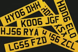 Number Plate Combinations Explained 250x166