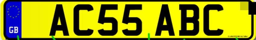 The Current Number Plate System