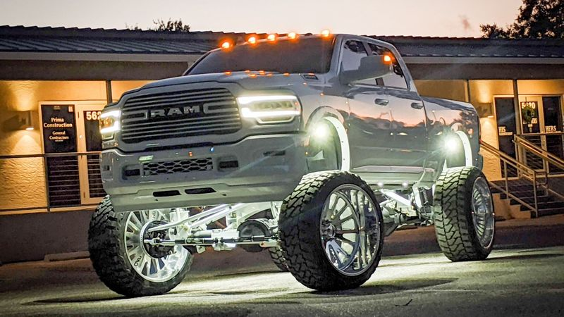 WHAT IS A LIFTED DODGE
