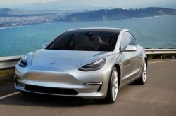 tesla model 3 silver prototype promo shot headlands 250x166