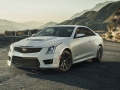 The Cadillac ATS-V Coupe arrives track-capable from the factory next spring, powered by the first-ever twin-turbocharged engine in a V-Series. Rated at an estimated 455 horsepower (339 kW) and 445 lb-ft of torque (603 Nm), the 3.6L V-6 is the segment's highest-output six-cylinder and enables 0-60 performance of less than 4 seconds and a top speed of more than 185 mph.