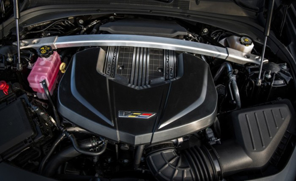 2017 Cadillac CTS-V Engine4