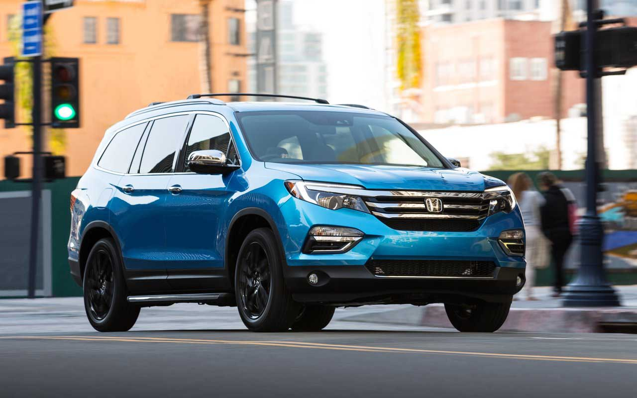 2018 Honda Pilot Suv Release Date Price Changes