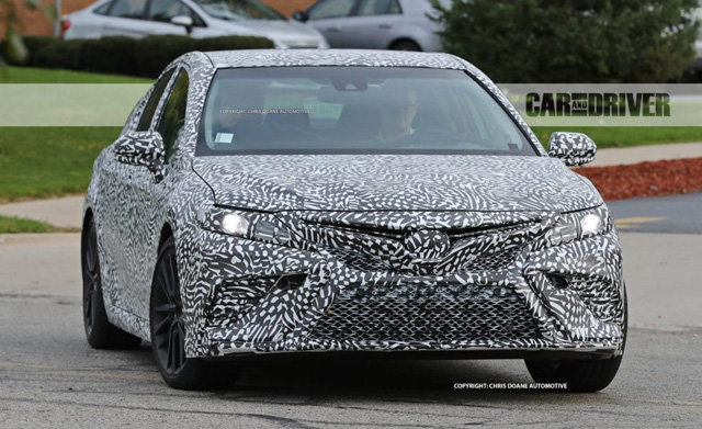 camry toyota trd auto detroit teased unveiling ahead spied cooking performance autoevolution engine carscoops