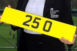 The most expensive number plate 250x166